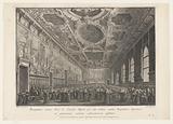 Meeting in the Sala del Maggior Consiglio