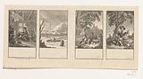 Four scenes from the Idylls of Salomon Gessner