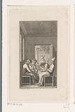 Four madmen in St Hiob