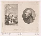 Lieutenant Neander with his black poodle and the portrait of Hermann Johann Ernst von Manstein