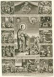Scenes from the life of Saint Thomas of Villanueva