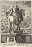 Emperor Claudius on horseback