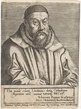 Portrait of the theologian Johannes Pappus at the age of 43