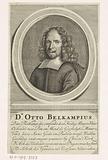 Portrait of pastor Otto Belcampius in oval