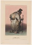 Caricature of Baron Joseph-Dominique Louis as a poor smuggler