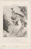 Caricature of Aeneas and Dido