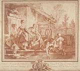Laundresses and children