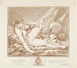 Lying Venus with Amor and Anteros