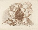 Study of heads and dog's head