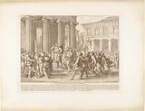 Licurgus injured by Alcander in riot