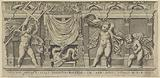 Relief with three putti