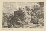Landscape with hermit's house