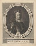 Portrait of Claude Berbier du Metz