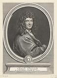 Portrait of Claude Perrault