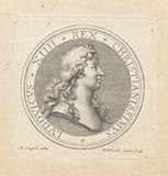 Medal with bust of Louis XIV
