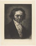 Portrait of artist Francisco de Goya