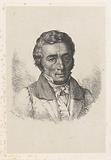 Self-portrait of Frédéric Théodore Faber