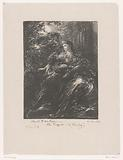Dido and Aeneas in the moonlight