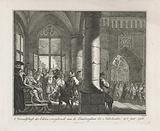 Presentation of the Invocation of the Nobles to the Governor Margaret of Parma, 1566