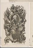Portrait of Karel Theodoor of Bayern in allegorical frame
