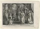 Pilate innocently declares Christ