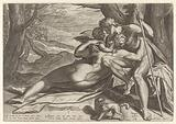 Venus and Adonis with Amor