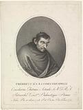 Portrait of cleric Federico Maria Giovanelli