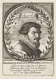 Portrait of Gerbrand Adriaensz. Bredero.