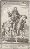 Equestrian portrait of William of Orange