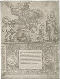 William of Orange as Saint George, c 1577