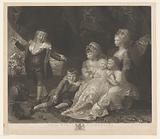 Portrait of six children of George III and Charlotte of Mecklenburg-Strelitz