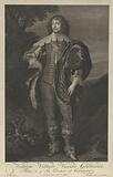 Portrait of Viscount Grandison William Villiers of Limerick