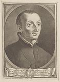 Portrait of cleric Luigi la Nuza