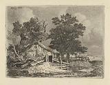 Barn in a landscape