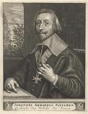 Portrait of Armand-Jean du Plessis, Duke of Richelieu