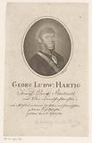 Portrait of Georg Ludwig Hartig