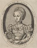 Portrait of Maria I Stuart, Queen of Scotland