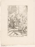 Christ raises the widow's son in Nain