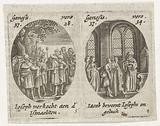 Joseph sold to the Ishmaelites / Jacob is saddened at the cloak of Joseph