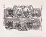 Twenty-fifth Government Jubilee of King William III and Queen Sophie, 1874