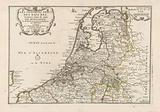 Map of the Netherlands, 1701