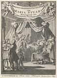 Deathbed of Mary II Stuart, Queen of England and Scotland, 1695