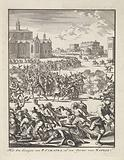 Giuseppe Caraffa killed in a riot in Naples, 1647