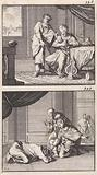 David punished by Nathan / David prays for the life of the child of Bath-sheba