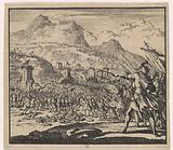 Judas Makkabaeus fights Antiochus Eupator's army