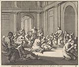 Meeting of Christians in the room of St Castulus in the Imperial Palace
