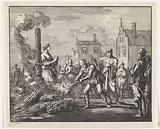 Burning of an innocent woman