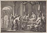 Meeting of the 72 translators of the law by order of King Ptolomeus Philadelphus