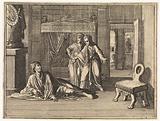 David prays for the life of the child of Bath-sheba