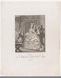 Marie Antoinette: The Queen of Fashion: Court Lady in a Robe de cour.